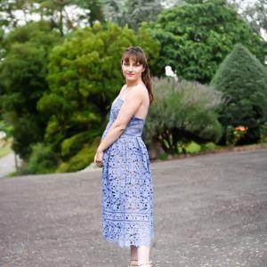 Azalea bleu ciel