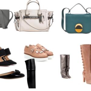 Sélection luxe : sacs et chaussures