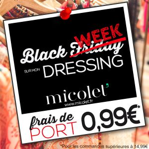 Black friday sur mon vide dressing Micolet