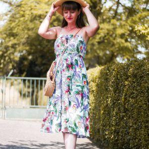 Look en robe d'été