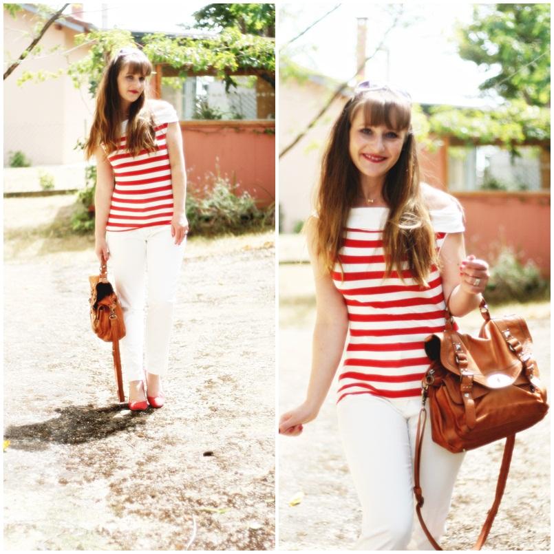 top-promod-rayures-rouges-pantalon-mango-ete-2012-blog-modeuse-aurelia-2