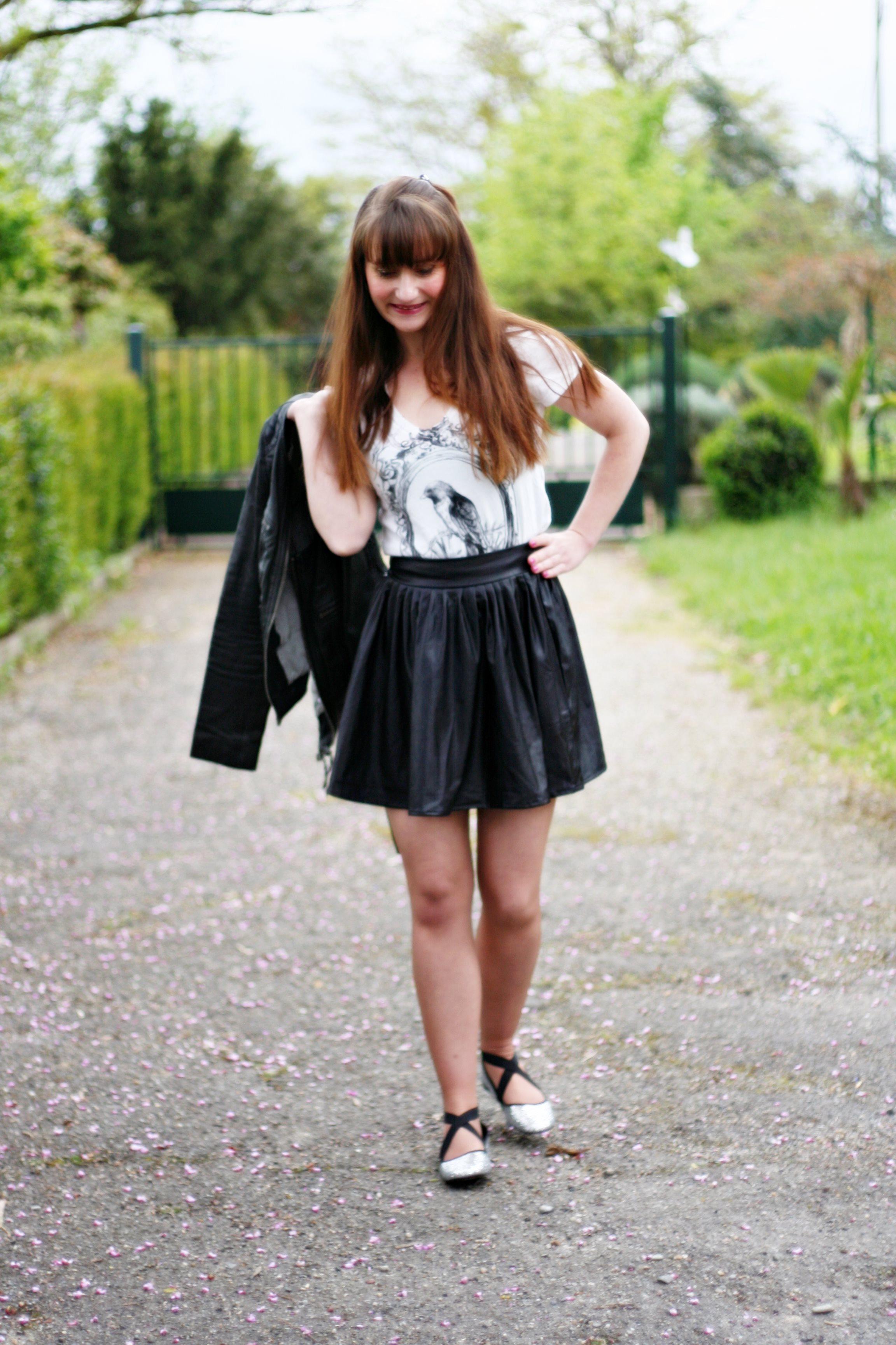 jupe patineuse blog mode