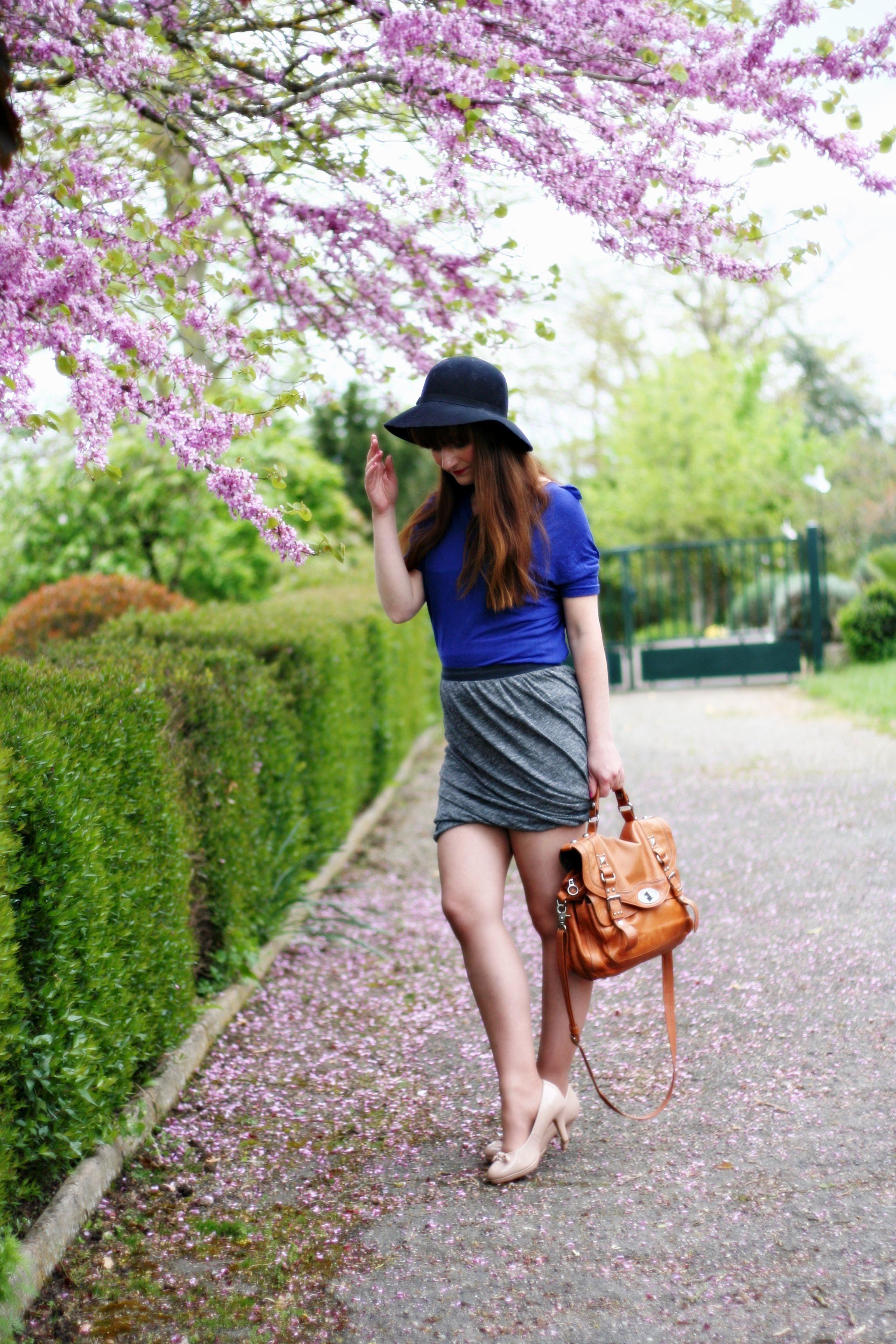 jupe drapée-aurelia-blog