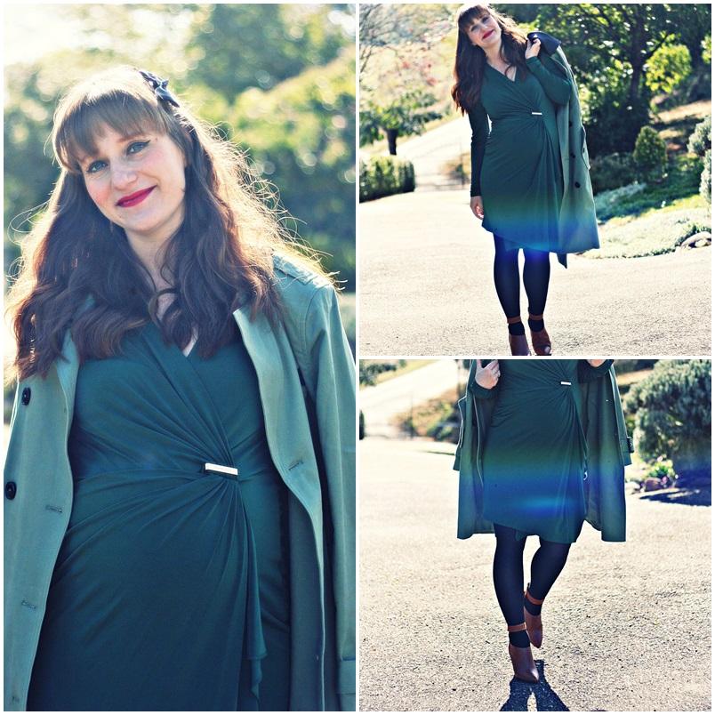 blog-mode-michael-kors-trench-vert-pale-robe-michael-kors-boots-zign-compensées