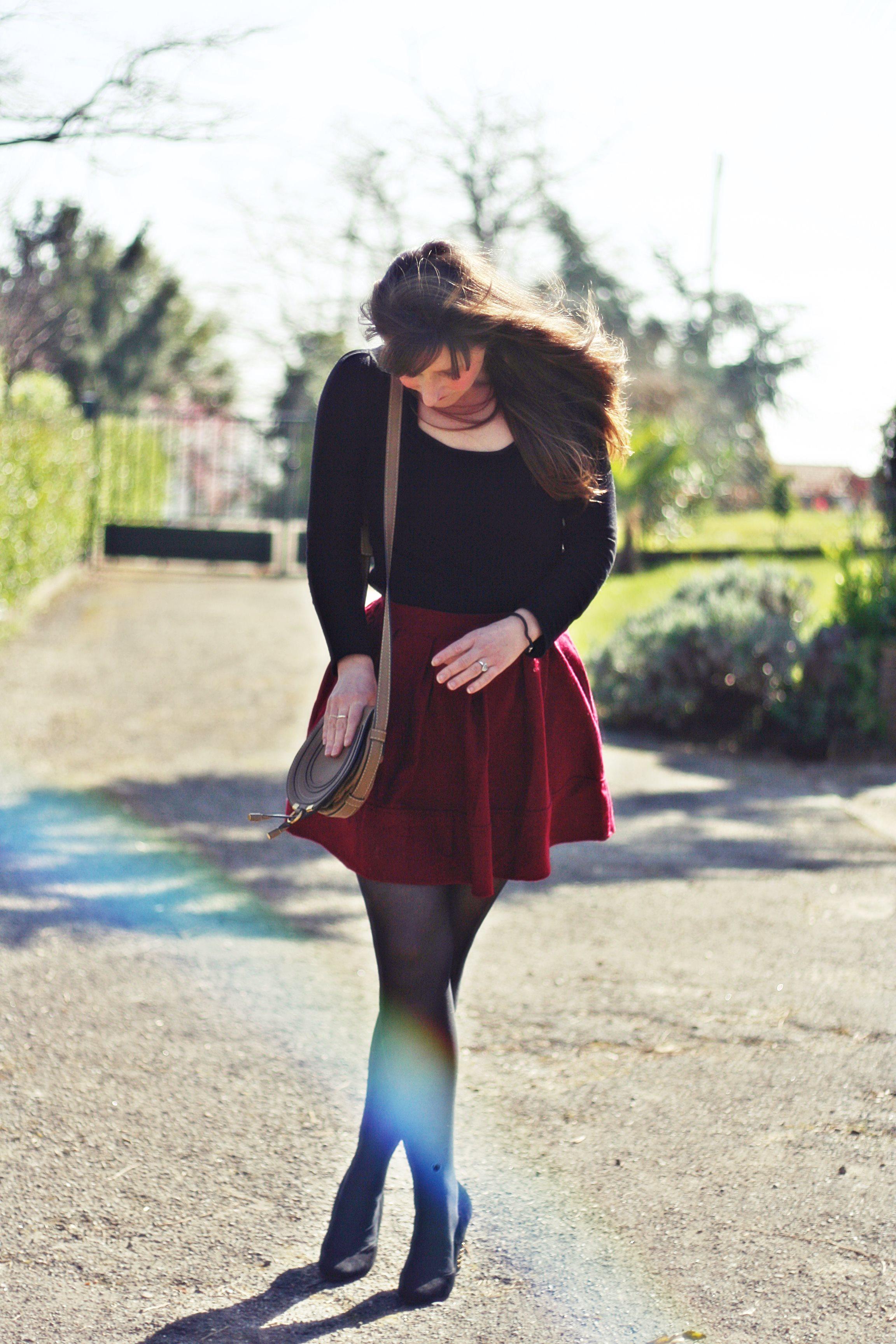 look-jupe-rouge-blog-mode-aurelia