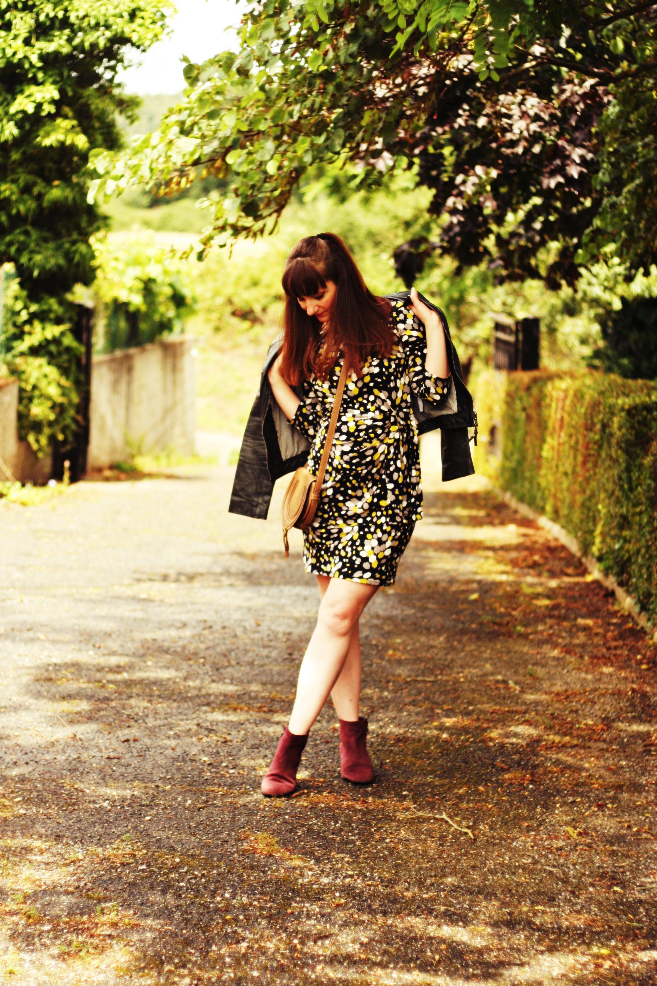 look une robe et des boots ash sac chloe robe wallis mode