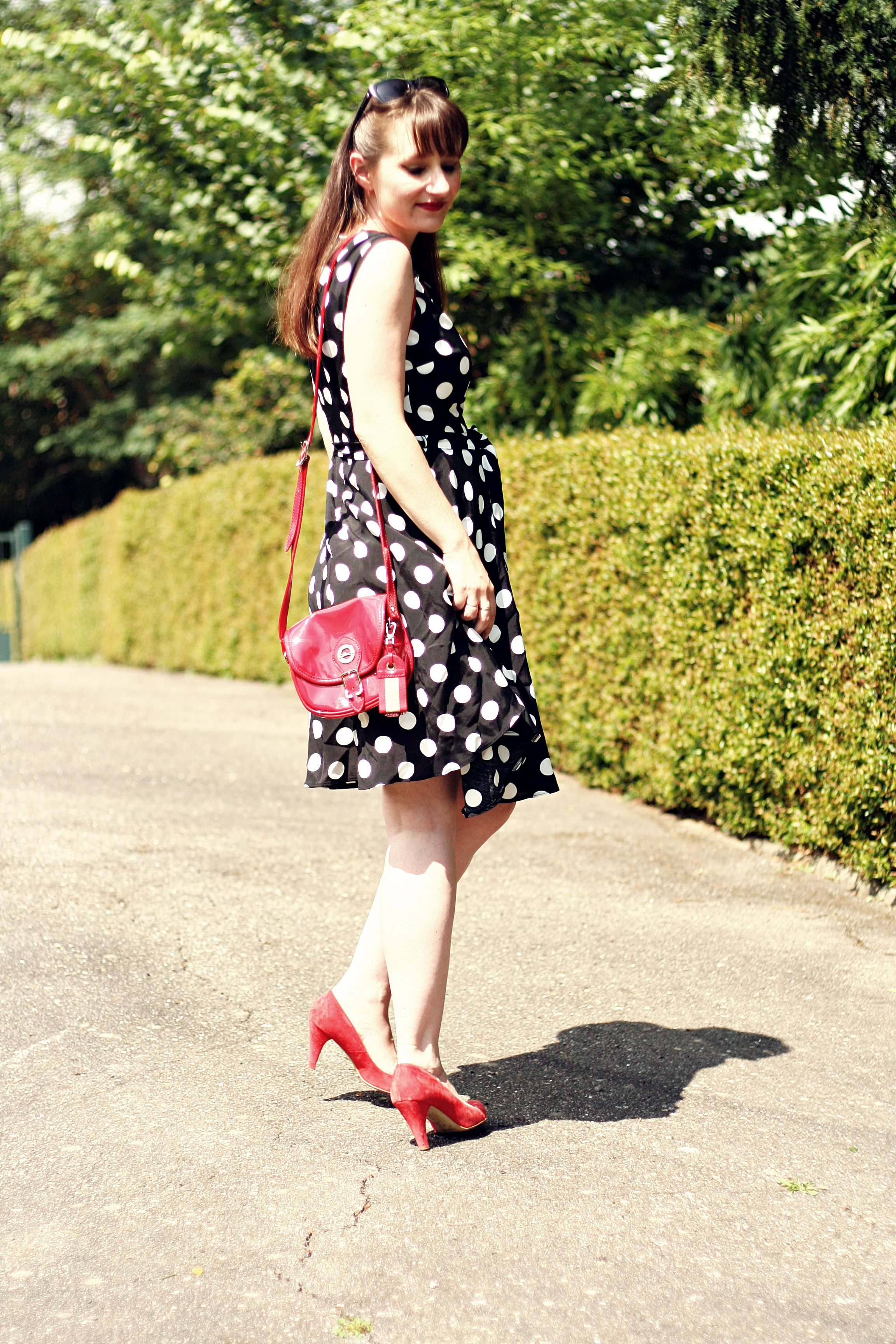 look robe à pois