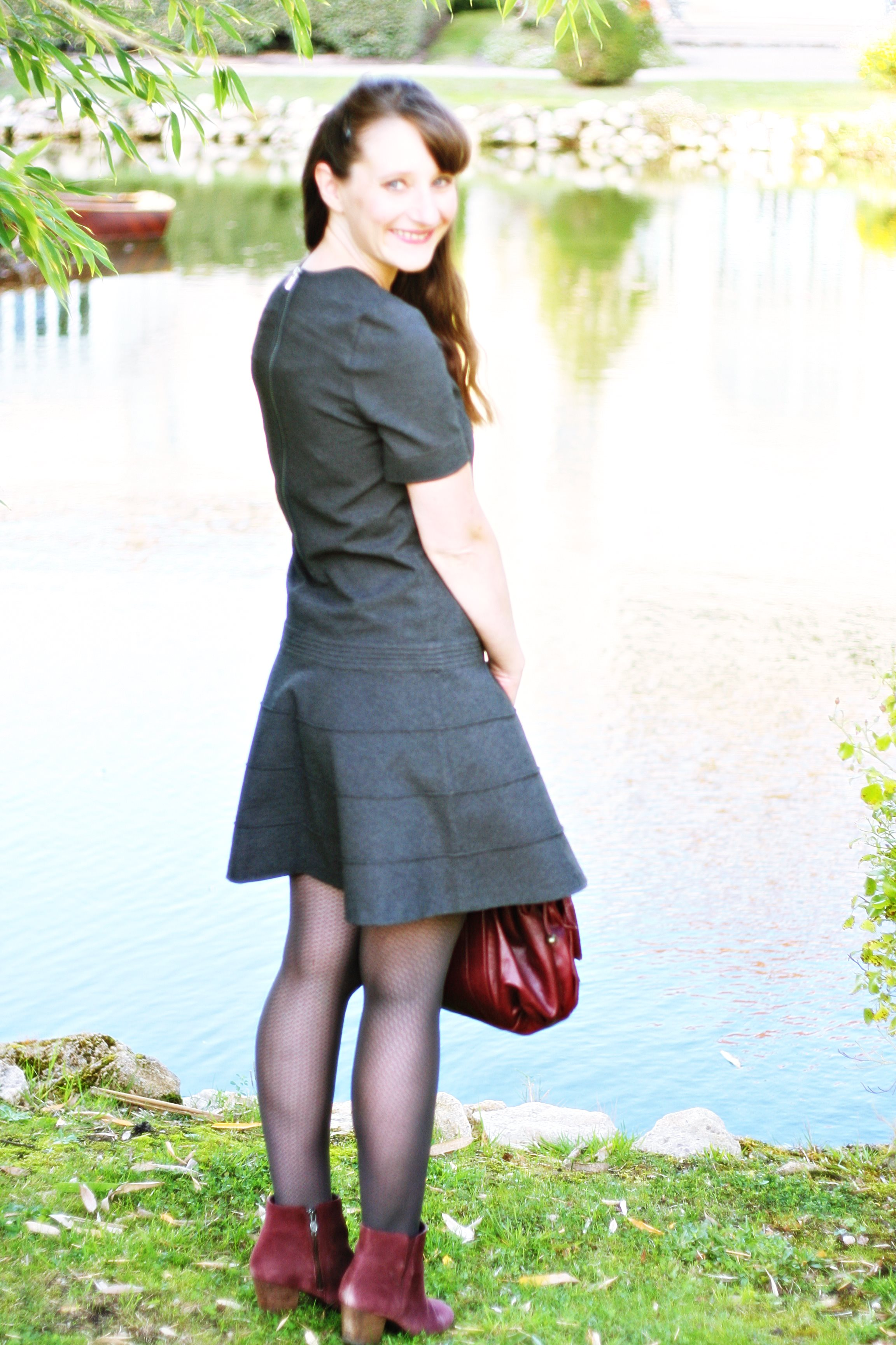 robe comptoir des cotonniers caudalie