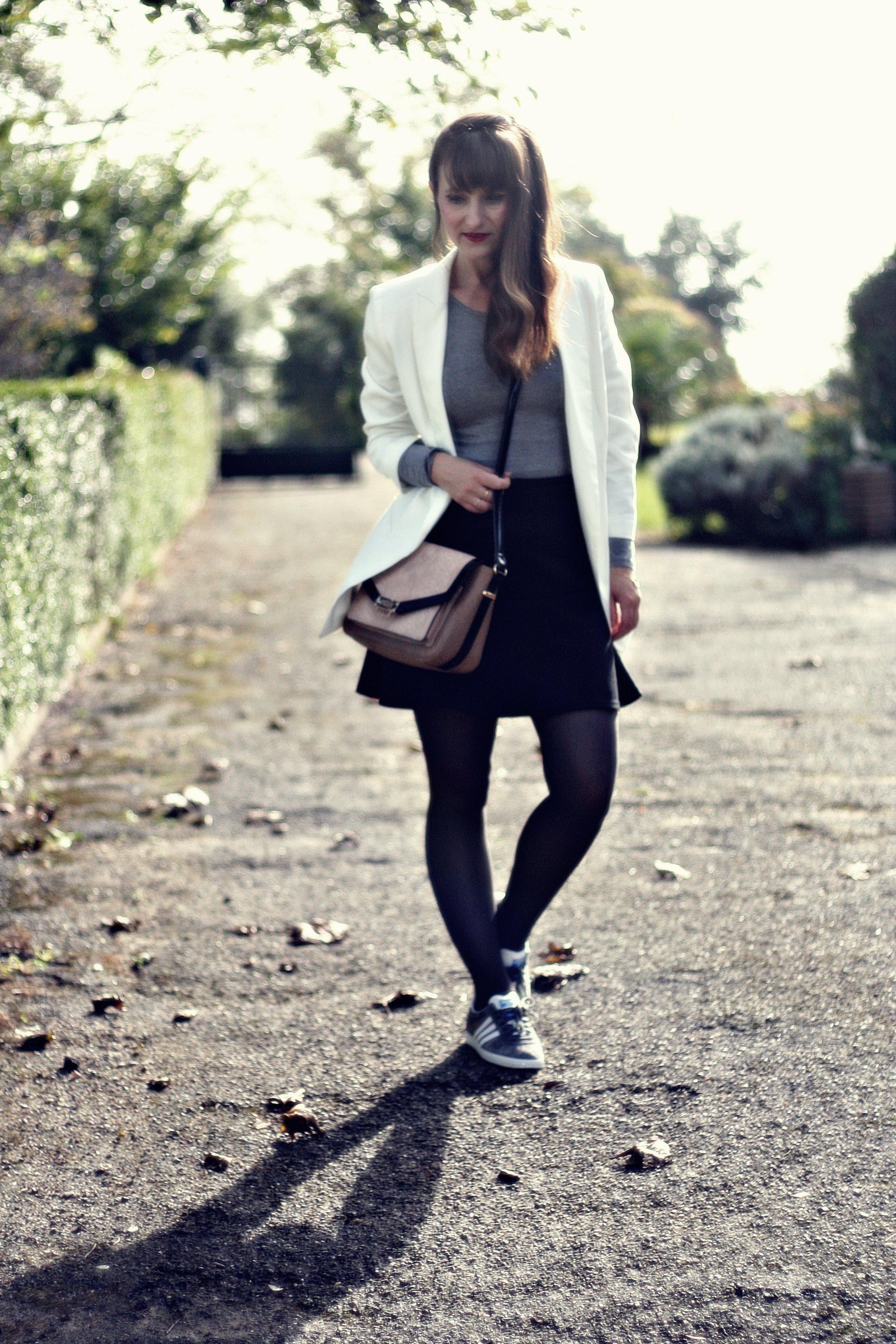 adidas gazelle street style look