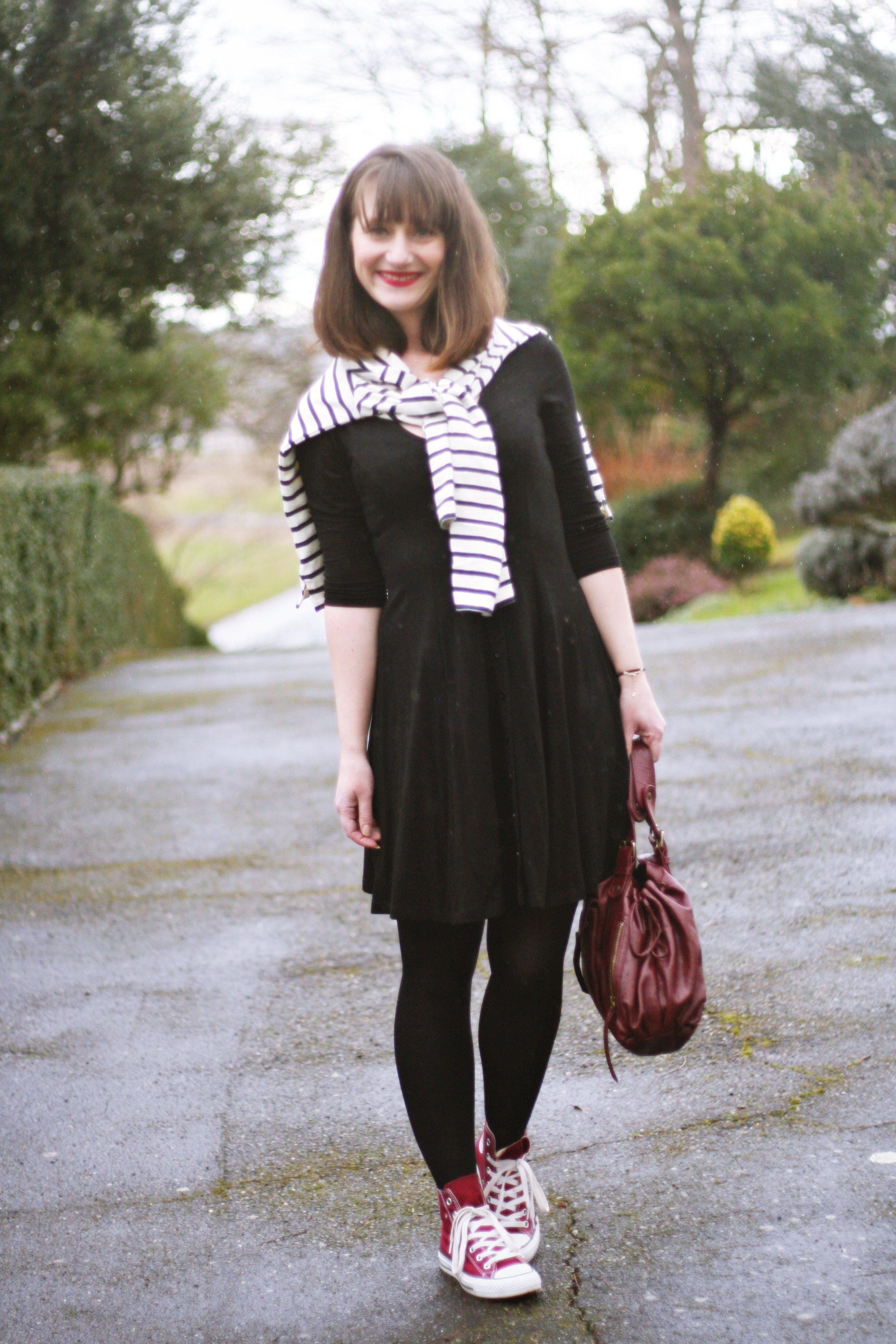 Robe et baskets : le choix pratique Aurélia blog mode