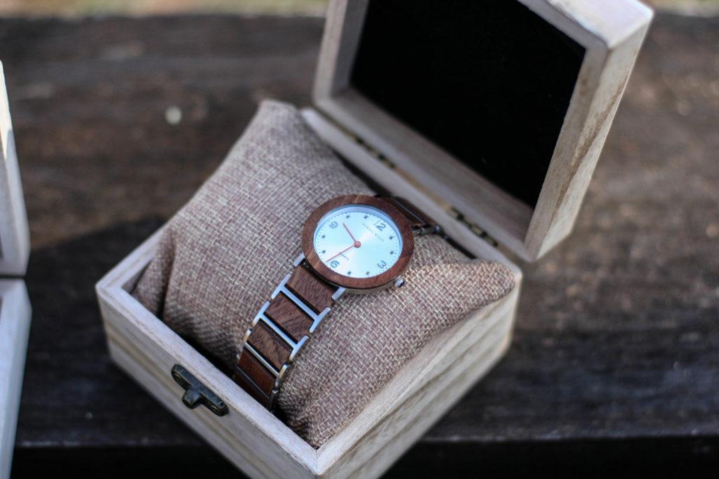 coffret montres en bois