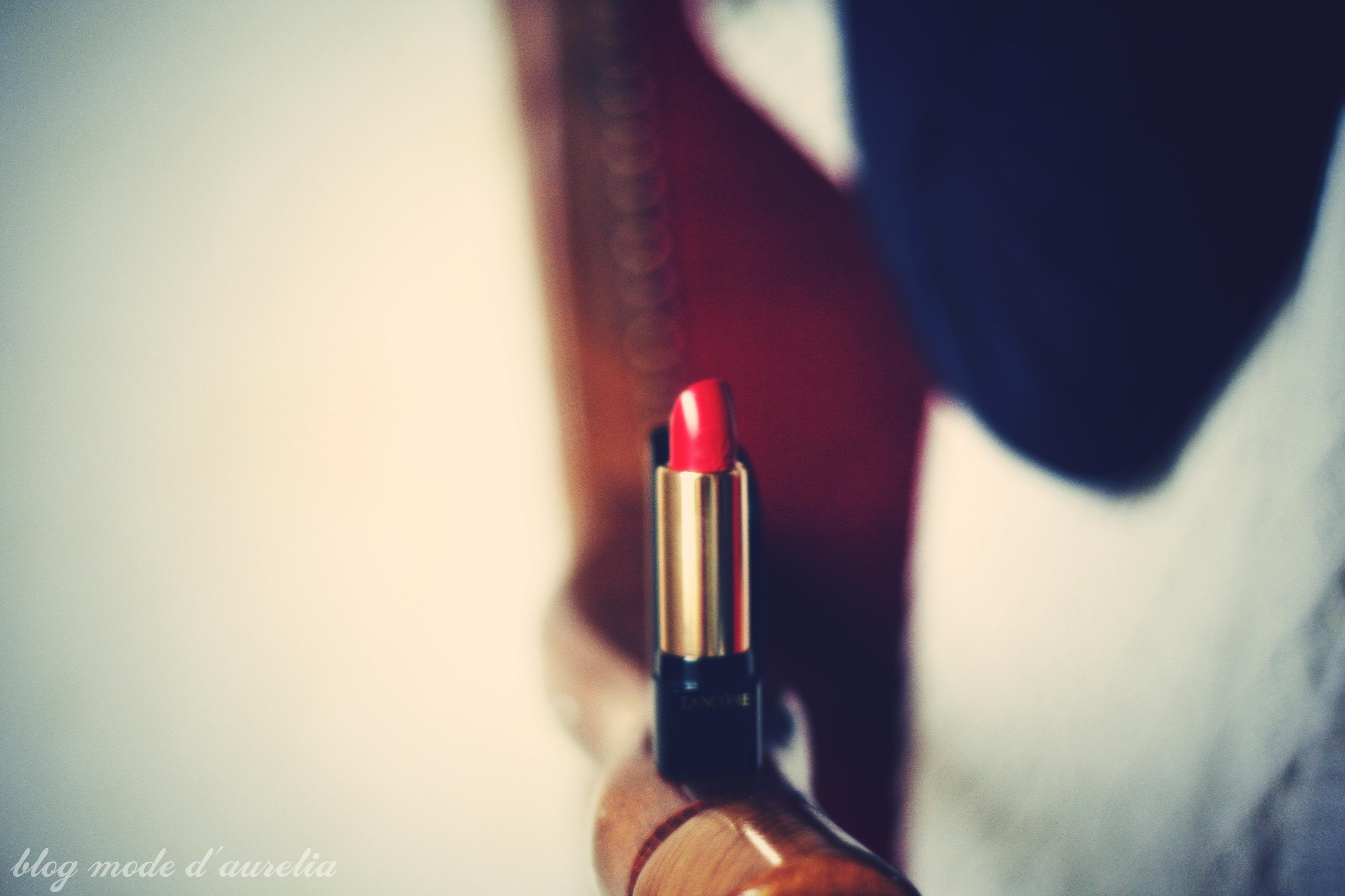 lancôme absolu rouge