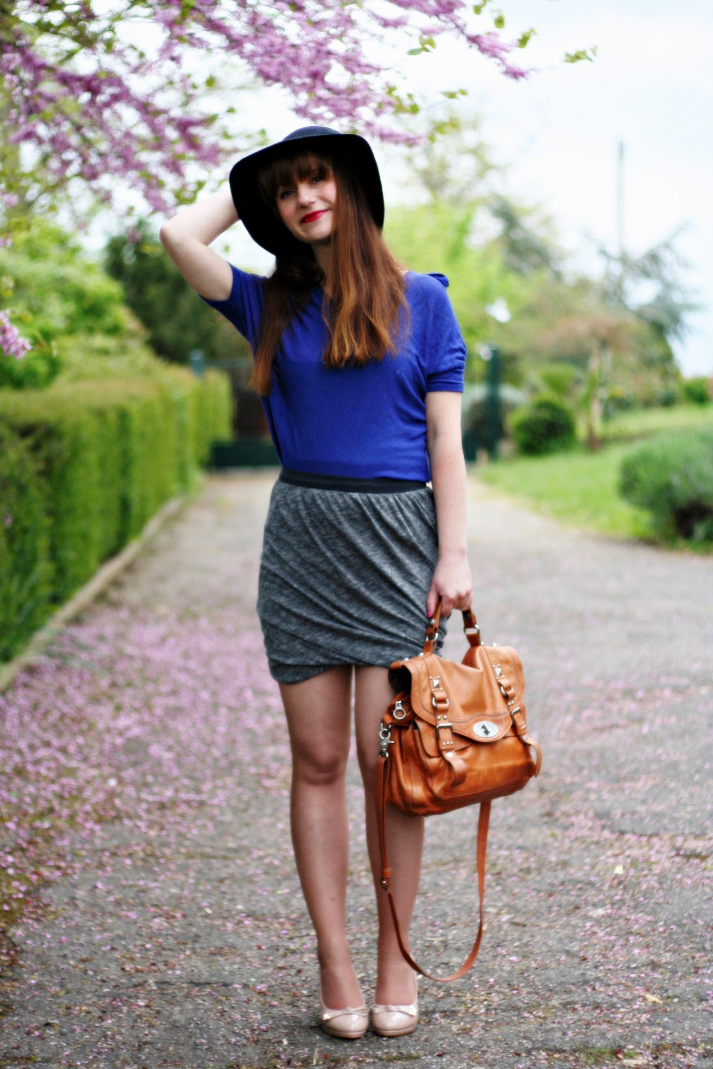 jupe-drapée-blog-mode