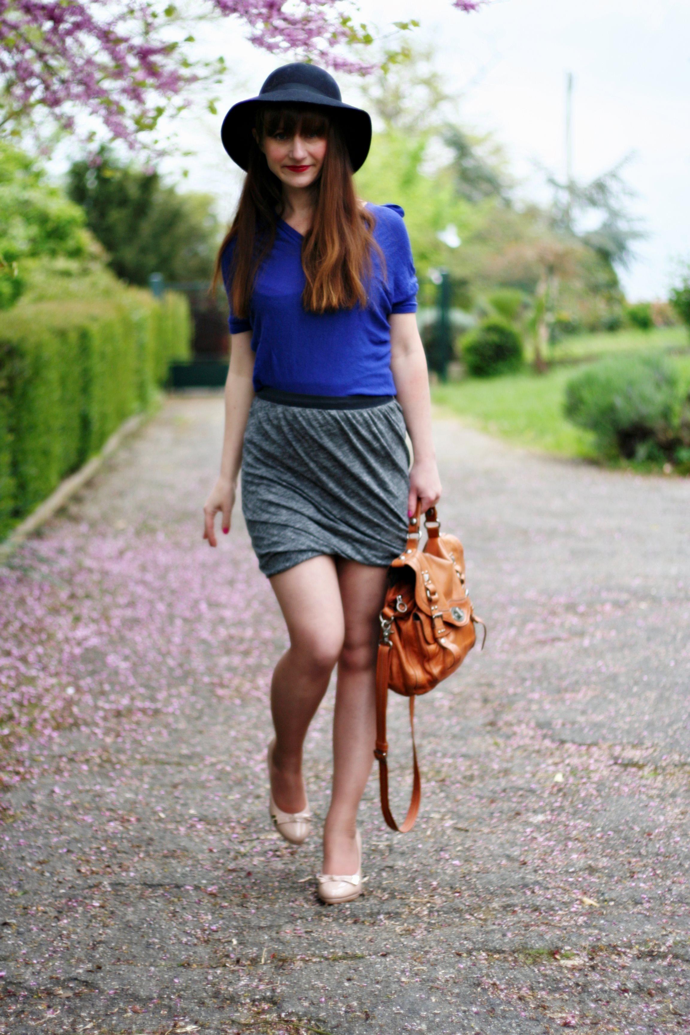 jupe-drapée-american-vintage-mini-jupe