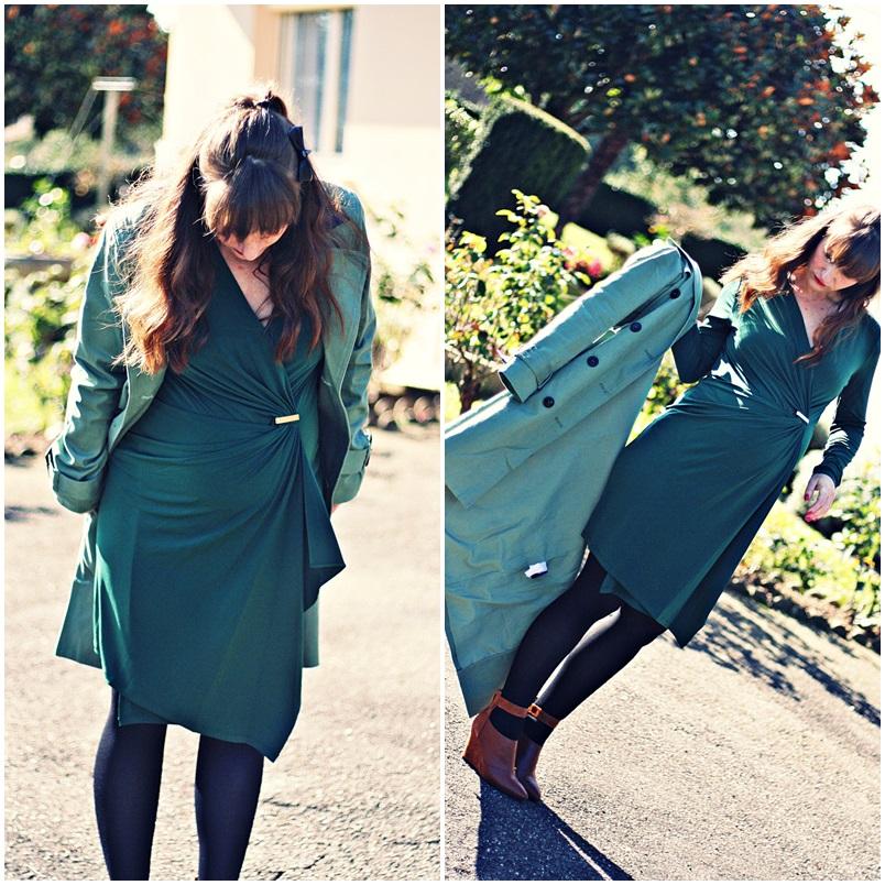 look-robe-michael-kors-zalando-look-automne-blog-mode-trench-boots-zign
