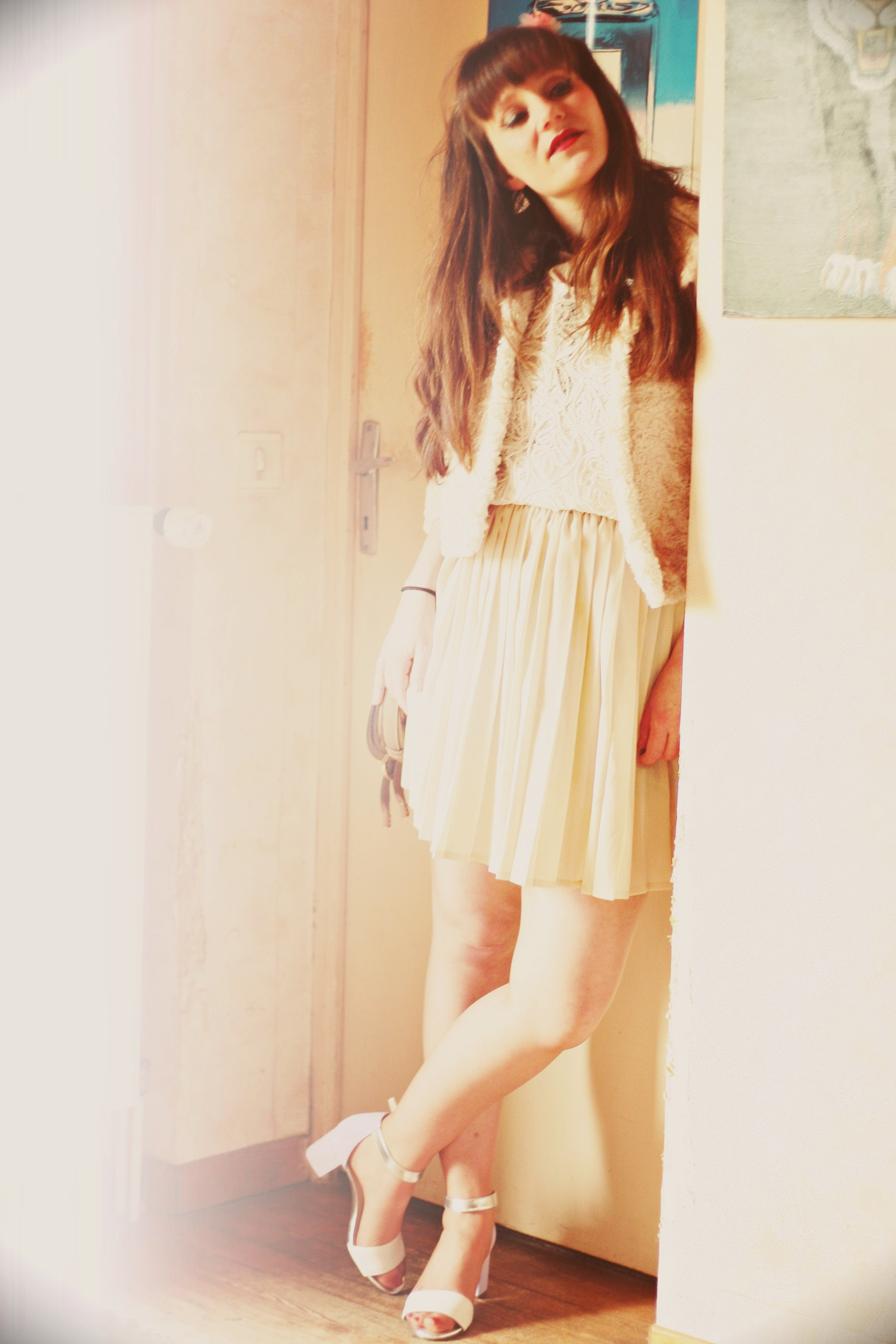 look vintage blanc chloe clark sareanza aurelia blog mode