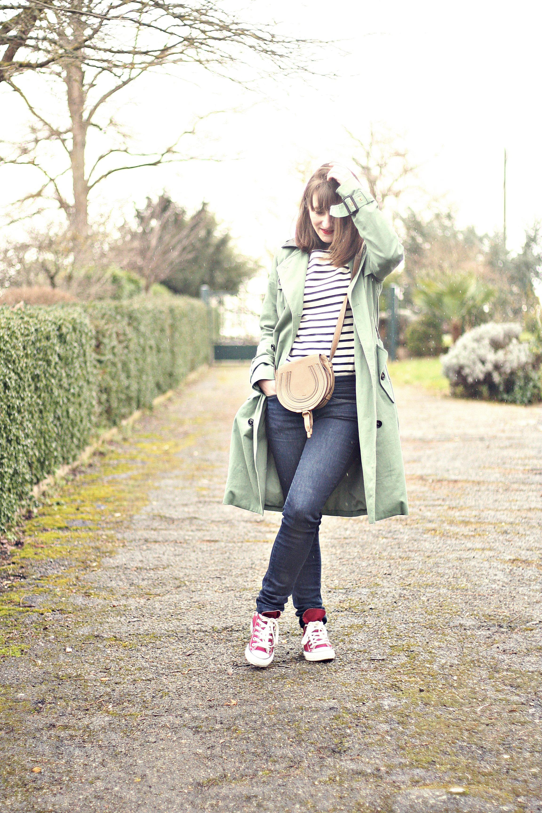 streetstyle-trench-pullmarin-petitbateau-converse-sacchloé-tennisconverse-bloggerfashion