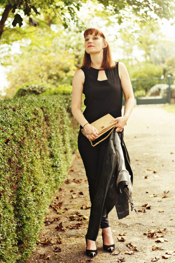look-noir-blog-mode-toulouse-sac-chanel-vintage-ikks