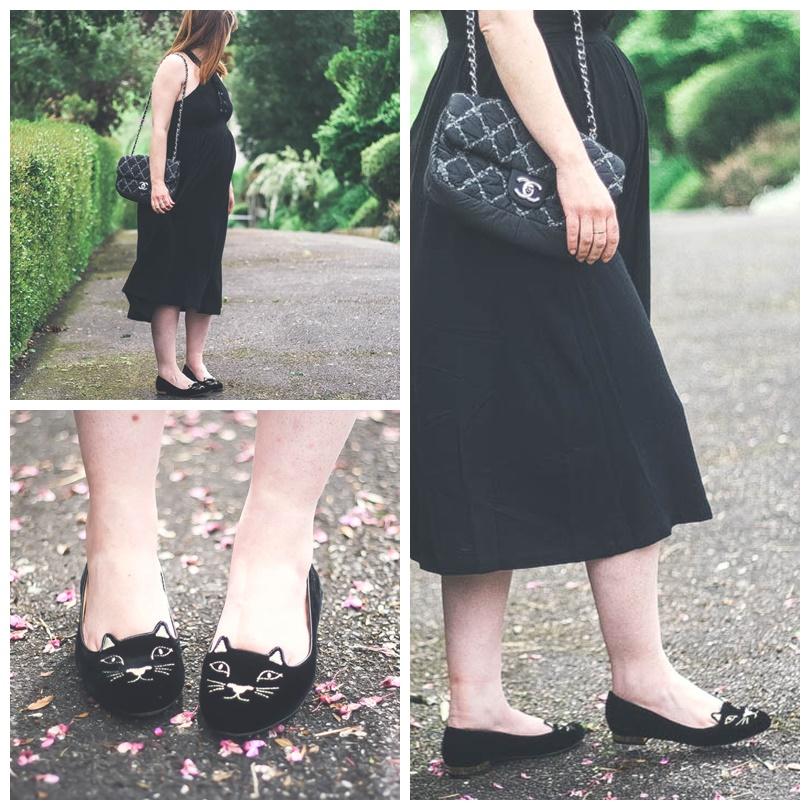 charlotteolympiablogmode-blog-mode-look-kittyflats-charlotte-olympia-sold-lace-dress-robe-midi-sac-chanel-2.55-blogueusemodetoulouse
