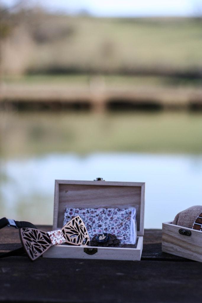 montres en bois haut de gamme et coffre accessoires à cheveux nordic wood