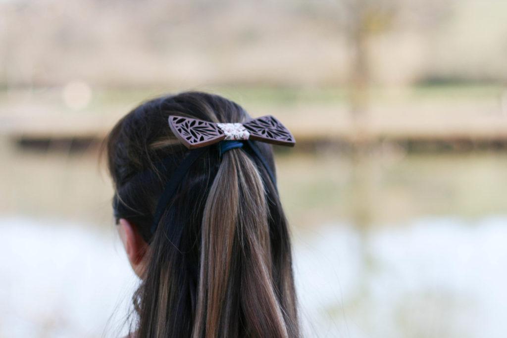 accessoires à cheveux scandinave, noeud papillon